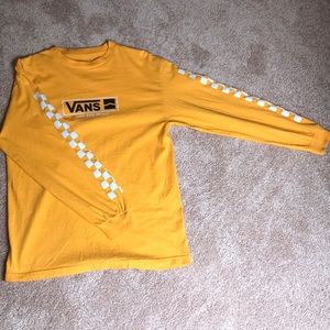 Classic Yellow Vans long sleeve